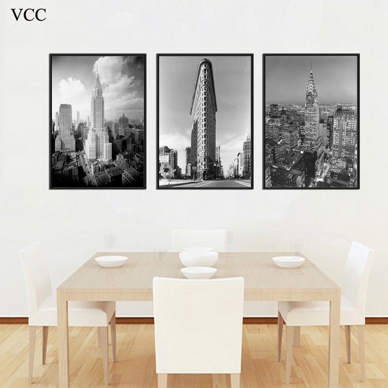 Online Shop Canvas Painting,New York City Building Picture,Wall ...