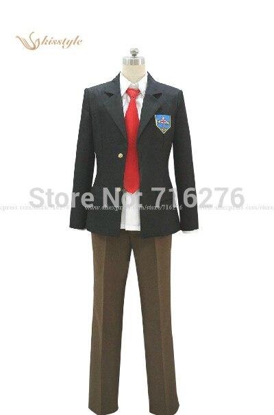 Kisstyle Мода бесплатная! Аниме Нагиса Hazuki Рей Ryugazaki высокое школьная Униформа Косплэй костюм на заказ
