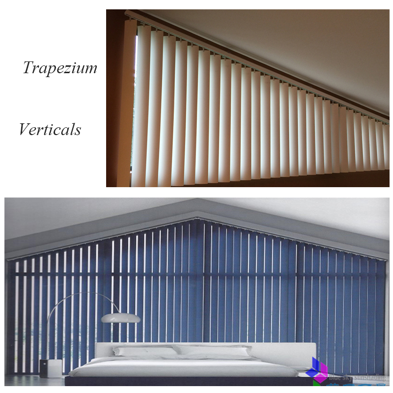 qualified 89mm fabric vanes Vertical blinds for customized size-in Blinds, Shades & Shutters from Home & Garden    1