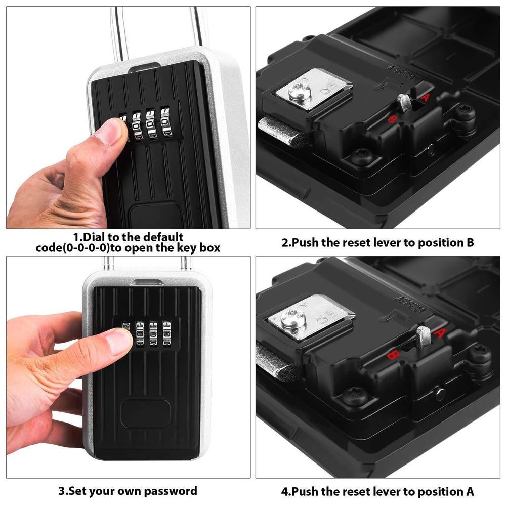 Password Key Box Password Box Hanging Key Box Key Storage Box Storage Box Key Box