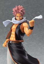 Fairy Tail Natsu Dragneel Anime Action Figure 23cm Model Toy