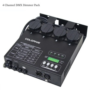 Image 5 - Factory Wholesale 4 Channel DMX Dimmer And Switch Pack With 16 Built in Light Programs 4CH Switcher For Stage Light Fixtures