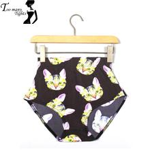 X-082 Summer bottom fashion sexy colorful women shorts High Waist cartoon print short Pants skinny