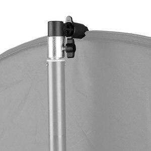 Image 4 - Refletor de suporte vertical para fotografia, painel fotográfico refletor suporte difusor giratório cabeça refletor braço suporte