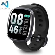 Wearpai GT103 sport montre intelligente pour hommes tension artérielle activité de fitness traqueur de fréquence cardiaque pour IOS Android montre étanche ip67