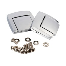 Motorcycle Chrome King Tour Pack Pak Latches For Harley Touring Street Road Classic Electra Glide Ultra Razor FLHX FLTR 80-13(China)