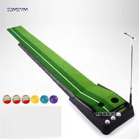 Indoor golf putting practice equipment multi fairway monochrome swing trainer training blanket golf ball retriever plastic 3M