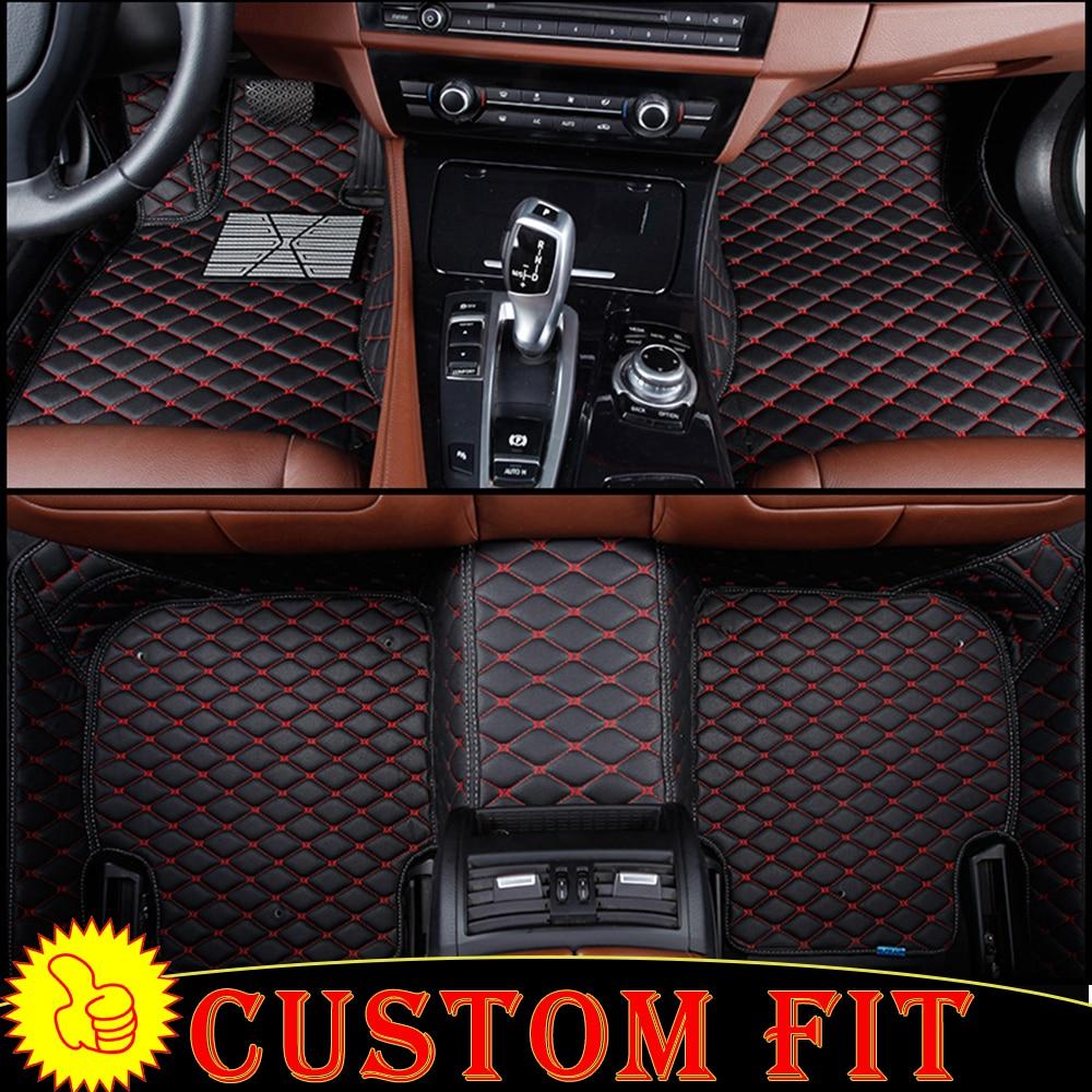Custom fit car floor mats liners for Mercedes Benz CLA W117 CLS W218 W219 CLK W209