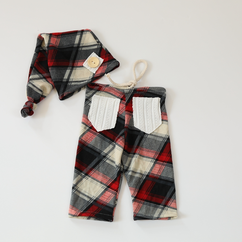 Pants Flokati-Outfits Photography-Props Newborn Boy Girl Hat For Studio-Photo