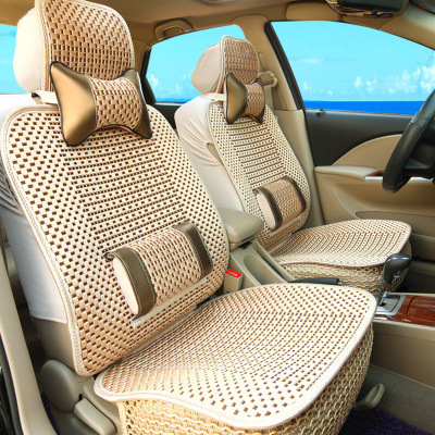 CNIKESIN car anti-skid seat cover summer universal ice silk cushion car headrest rest pillow pillow waist support shape 2016 70 70 silk pillow quality certification brand yilixin silk place moscow delivery natural high quality silk pillow
