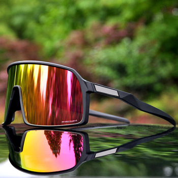 049d3ff60f 2019 polarizadas deportes hombres gafas de Ciclismo de 3 lentes al aire  libre gafas de ciclismo bicicleta de montaña ciclismo gafas UV400 ciclismo  gafas de ...