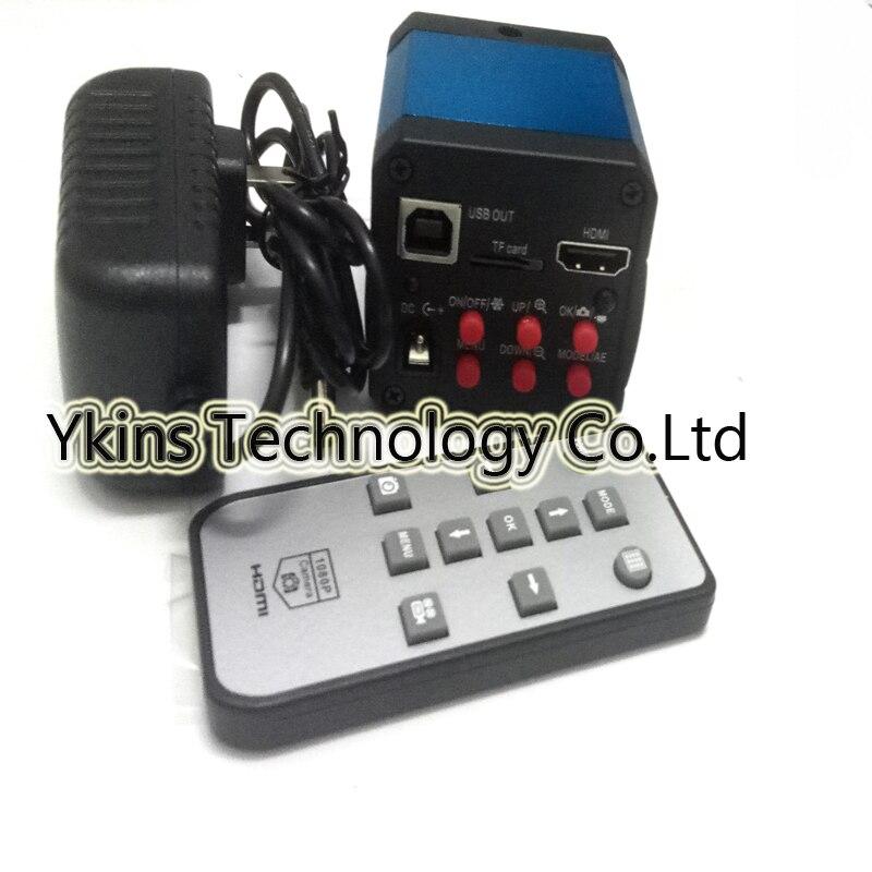 Simul фокусным расстоянием 3.5X-90X Тринокулярный Industral осмотр стерео микроскоп + 14MP HDMI C-mount Камера + 8 HD ЖК-дисплей монитор