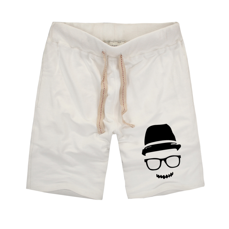 2016 New Fashion tide Men s fitness Shorts Summer casual creative Men s Trunks Comfort Homewear