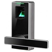Новый электронный черный Цвет биометрический дверной замок с аварийным клавиш и бесплатно установить и лекарственных средств (FDA Черный ML10