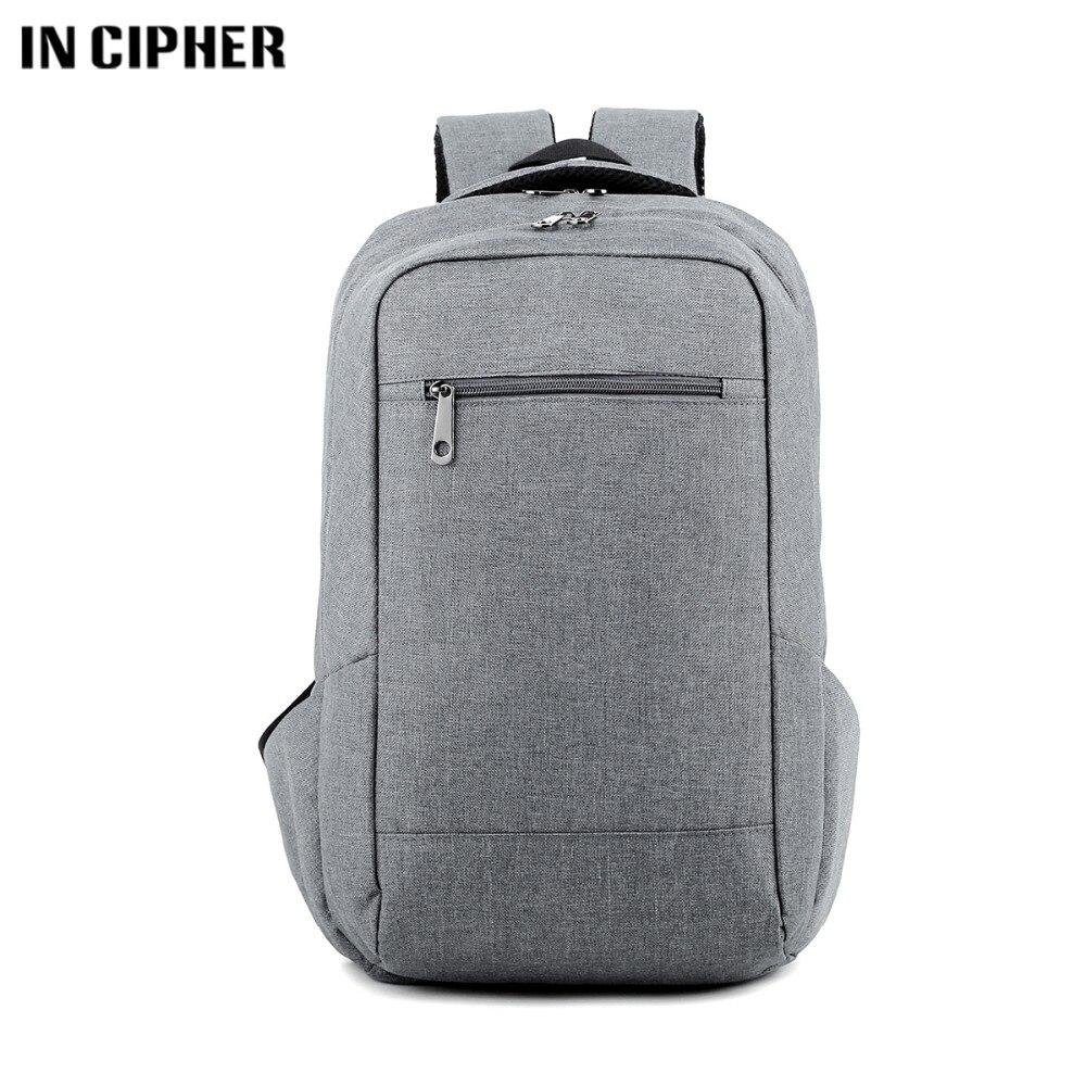 Men Backpacks Male Oxford Backpack Gray Casual Rucksacks 15inch Laptop Backpacks College Student School Backpack Women Mochila