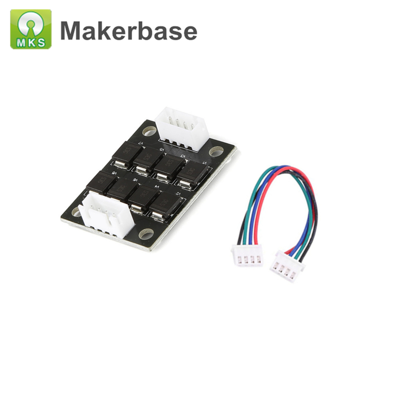 Top Quality 3D Printer Parts TL-Smoother Addon Module MKS Smoother For Stepper Motor Drivers MKS SBASE Anet A8 Ender