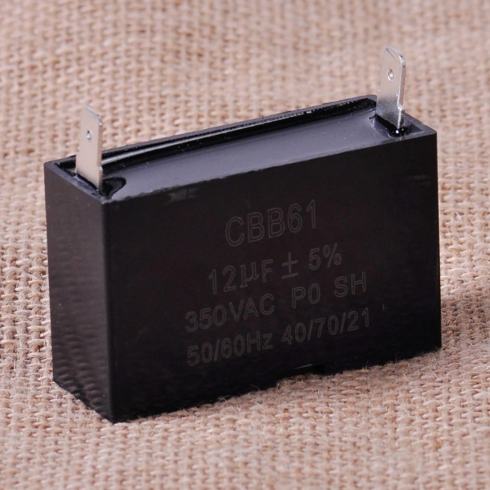 24uF 350V 50//60HZ CBB61 Rectangle Capacitor For Small Gasoline Generator Ceiling