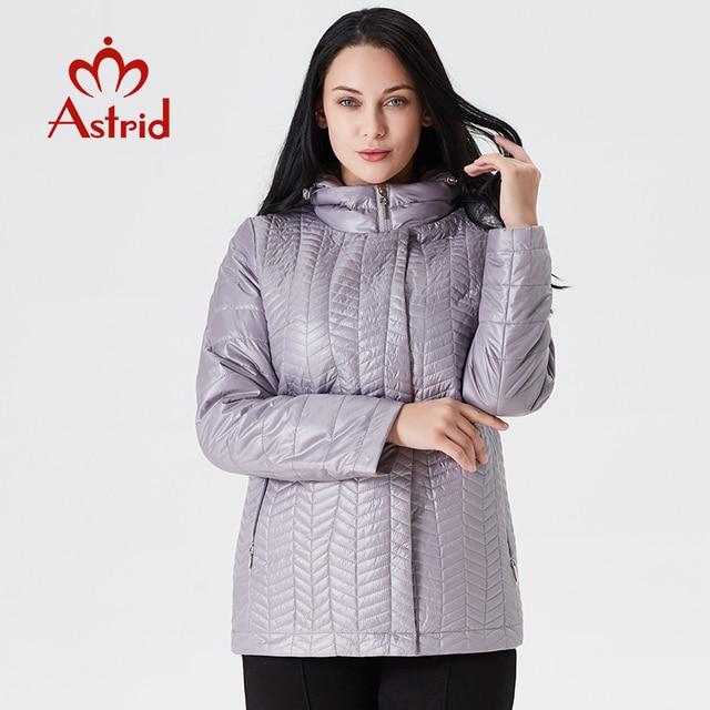ecc0a53faec Astrid 2019 пальто женское весеннее пальто демисезонная женская куртка  большой размер модная 9067