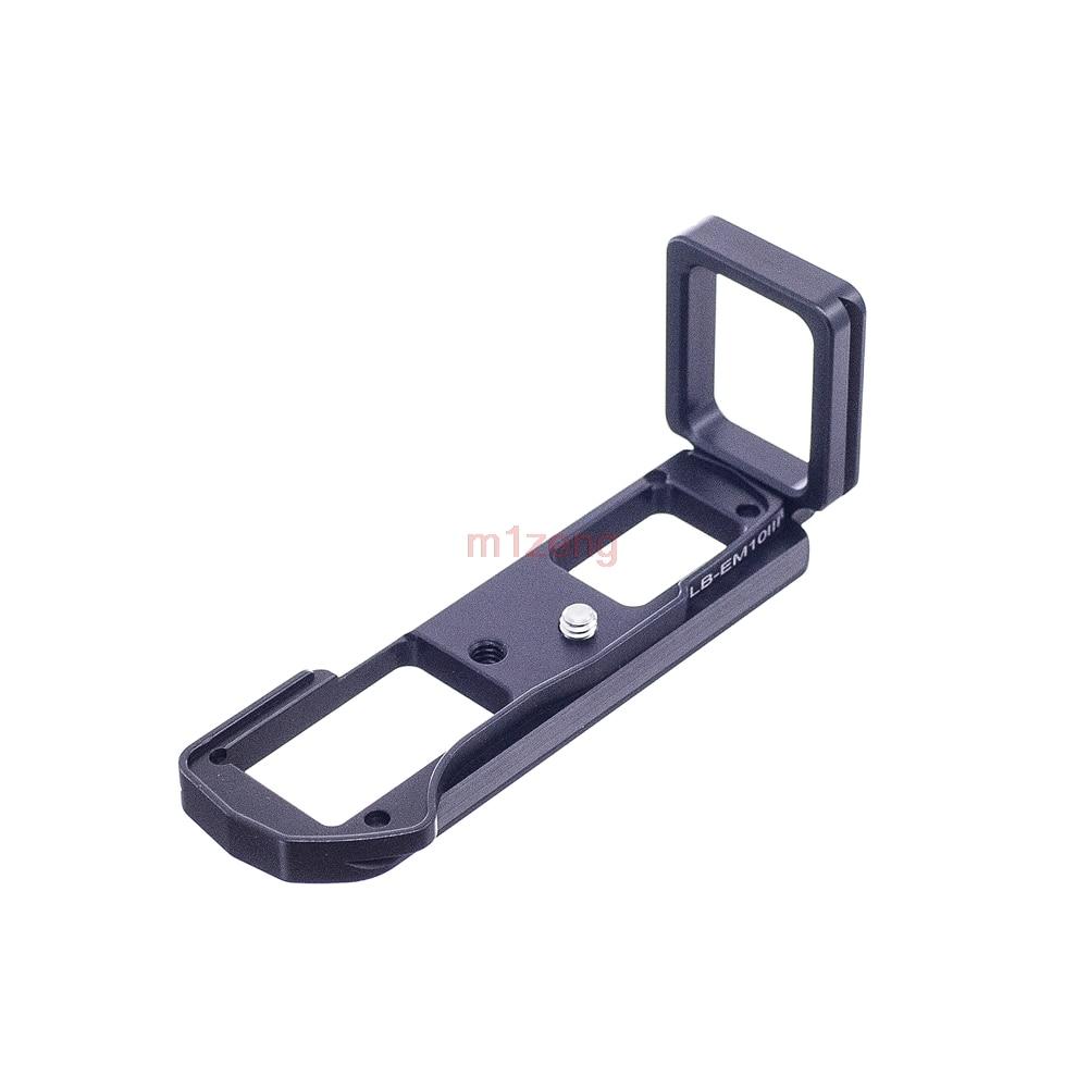 EM10III Quick Release L Plate/Bracket Holder Grip for Olympus OM-D E-M10 EM10 E-M10III RRS SUNWAYFOTO Markins Compatible