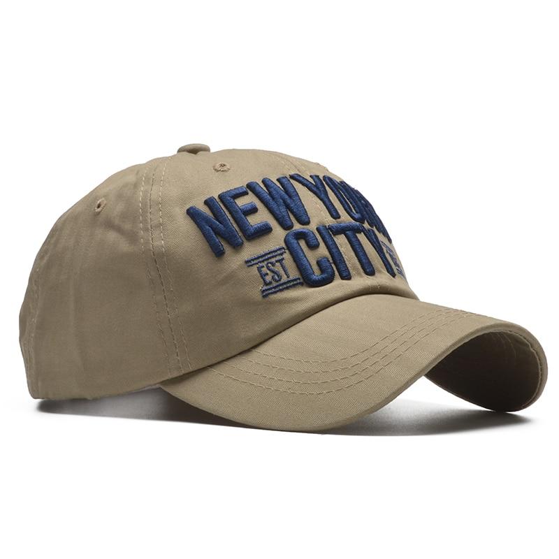 [NORTHWOOD] 100% Cotton New York Baseball Cap Snapback Hat Men Women Letter Fitted Cap Casquette Homme Hip Hop Soft NY Cap