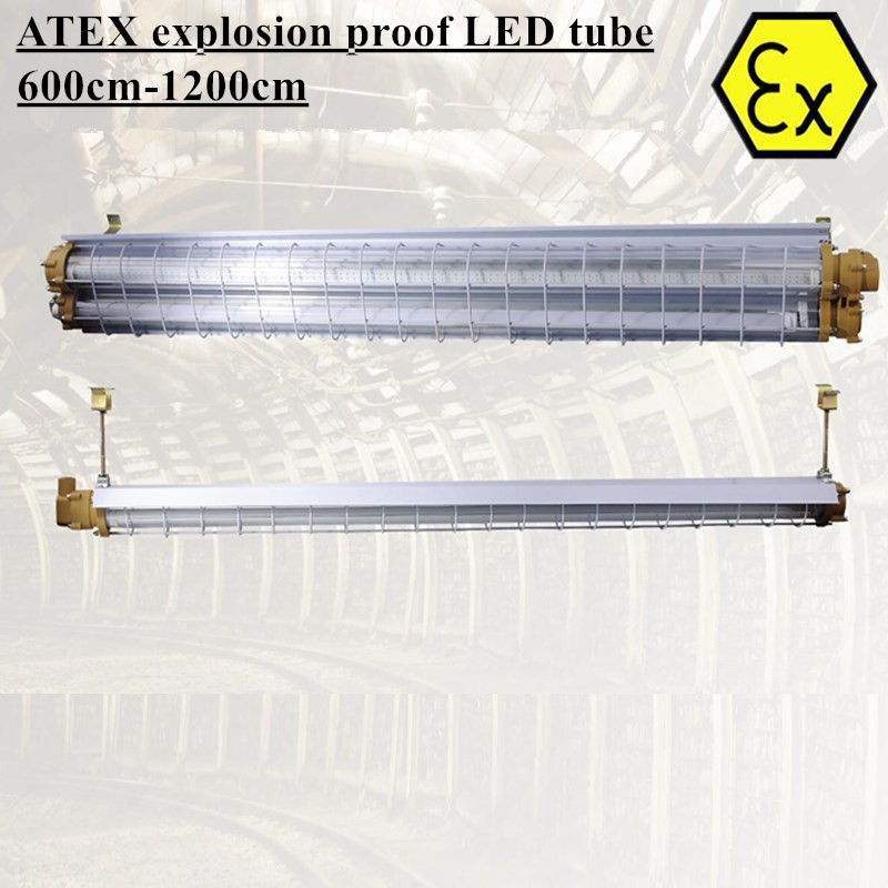 ATEX Linear Led High Bay Light 2FT 4FT 9W-36W Zone 1 Zone 2 AC110V 220V 240V ATEX Explosion Proof LED Tube