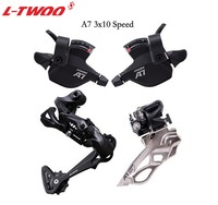 LTWOO Bicycle A7 3x10 10 Speed shfter lever+Front Derailleur+Rear Derailler groupset for MTB Bike 30speed Cassette 32T 36T