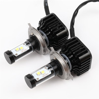 2X Car LED Headlight 12V 24V 80W 8000LM 6000K Light Auto Headlamp Bulb Kit H4 H7