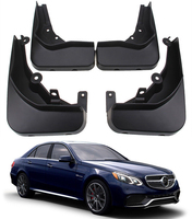 Car fender Fit For 2014 2016 Benz E Class AMG line E63 AMG Splash Guards Mud Flaps 4pcs/set