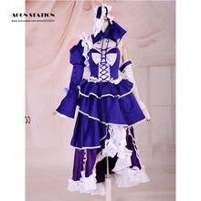 2016 Nueva Moda Musical de Vocaloid Hatsune Miku Cosplay Traje Para la Fiesta de Halloween