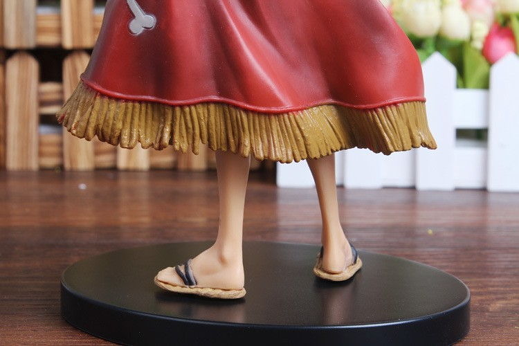 One Piece Luffy Action Figure Back Feet
