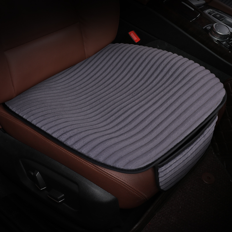 Warm plush Car <font><b>seat</b></font> <font><b>cover</b></font> car styling <font><b>seat</b></font> cushion car pad mat for <font><b>Peugeot</b></font> 206 207 2008 <font><b>301</b></font> 307 3008 408 4008 508 image