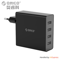 ORICO DCH 4U 4 Port Multi USB Charging Station 5V1A 5V2A For IPhone Ipad Sumsung
