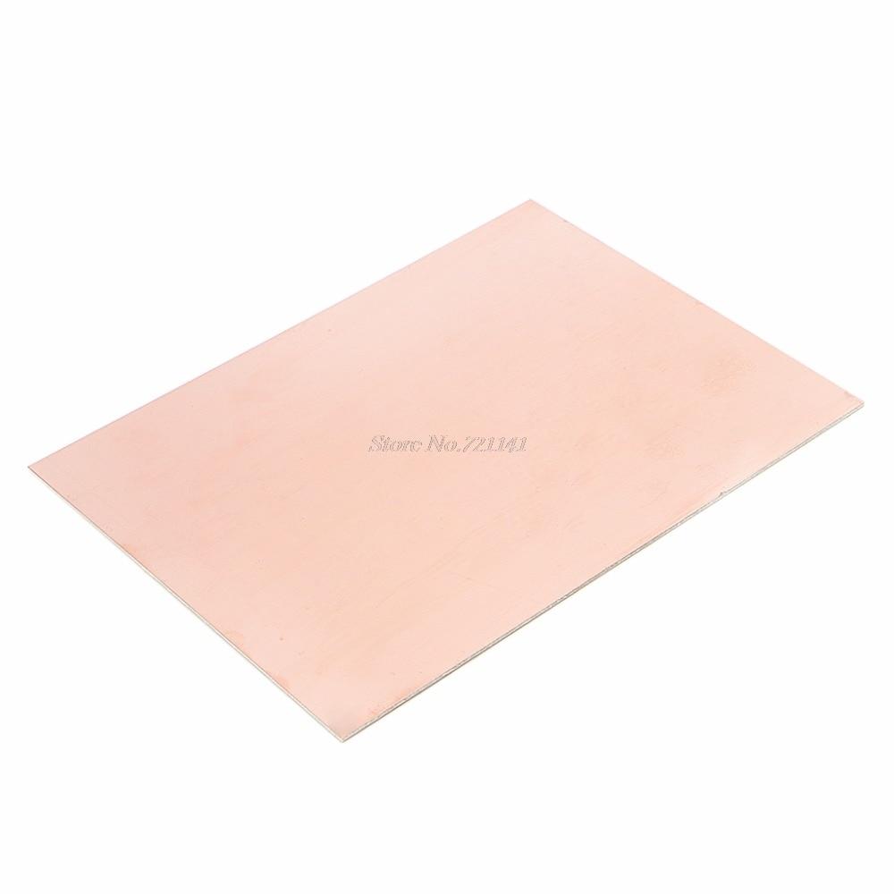 15x20 см Односторонняя печатная плата из меди, ламинат FR4 1,5 мм для самостоятельного проекта, Прямая поставка