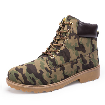 Dropshipping Army Boots Male High Top Design Tactical Boots Martin Shoes for Men Black Military Boots Lace Up