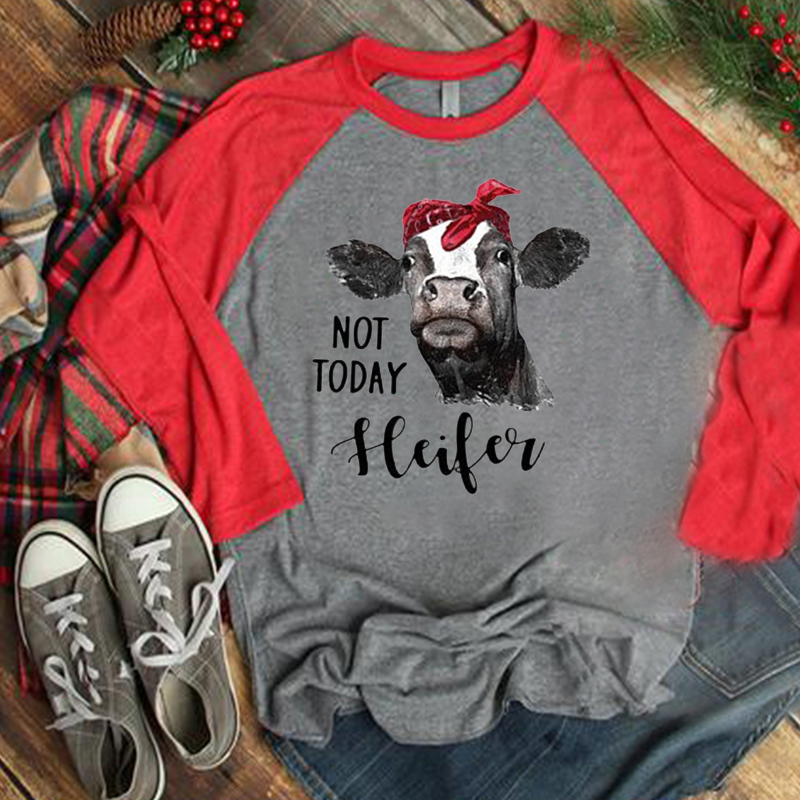 not today Santa bottoming t shirts casual slim top woman tees o neck long sleeve female t shirt in T Shirts from Women 39 s Clothing