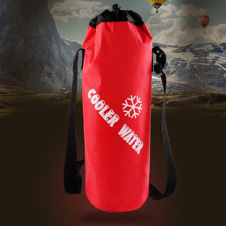 Fashion portable insulated thermal ice cooler bag warmer lunch food picnic insulation thermos bag bottle bag for man women in Water Bags from Sports Entertainment