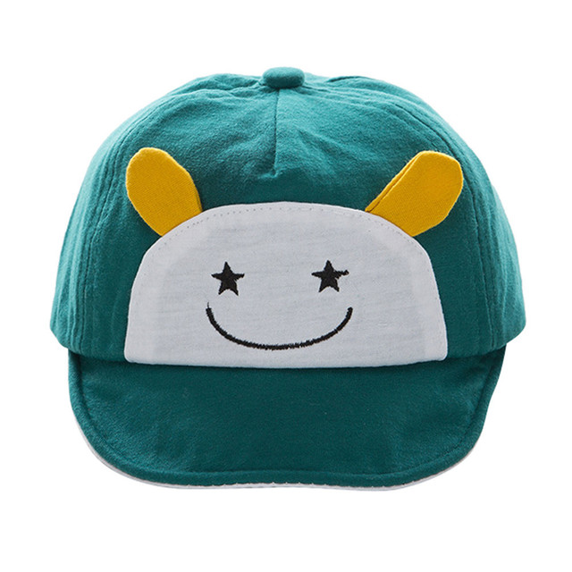 hiking cap summer Baby Beanie For Boys Girls Cotton Hat Children Letter Hats  hiking cap uv bonnie hat 9b8ad17f5de