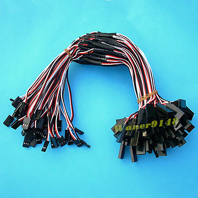 50 Pcs 30cm Y Style Servo Extension extend Lead Wire Cable JR Futaba 20 pcs lot 2sa817 y a817 y 2sa817 to 92