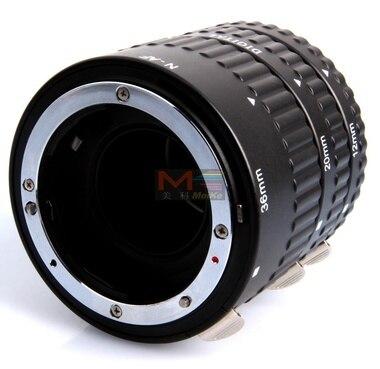 Meike MK-N-AF-B, Meike MK-N-AF-B mise au point automatique AF Macro Extension Tube Set mise au point automatique pour appareil photo Nikon D-SLR - 3