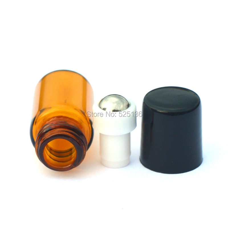 1 unids Roller Botellas 2 ml roll on Botellas de Aceites Esenciales Botella de P