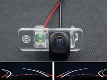 HD 1080P Fisheye Lens Trajectory Tracks Parking Car Rear view Camera for Audi A8 1997-2014 A6 2000-2014 A4