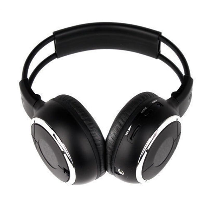 ФОТО MAHA Hot 4PCS IR Wireless Headphones Headsets Earphone for Car DVD Player L Flip Down&Headrest