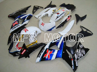 For Suzuki GSXR 1000 K9 2009 2010 2011 2012 2013 Injection ABS Fairing Kits GSXR1000 K9 09 13 Dark Dog Black/Blue/White