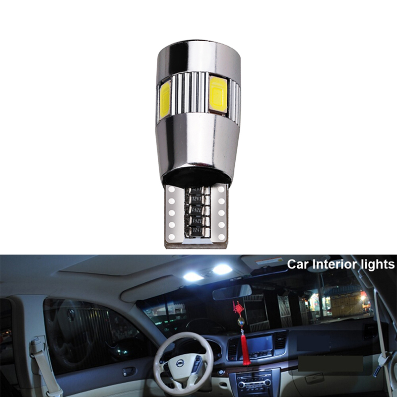 Image 4 - 6x T10 W5W LED Blub CANBLUS Super bright Car Interior Light Auto Styling 12V License Plate Turn signal Lamps Error Free 194 5W5-in Signal Lamp from Automobiles & Motorcycles