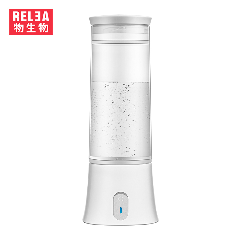 350ml High Quality Portable Hydrogen Rich Alkaline Water Bottle Filter Negative Lon Flask Healthy Anti Aging USB Charge