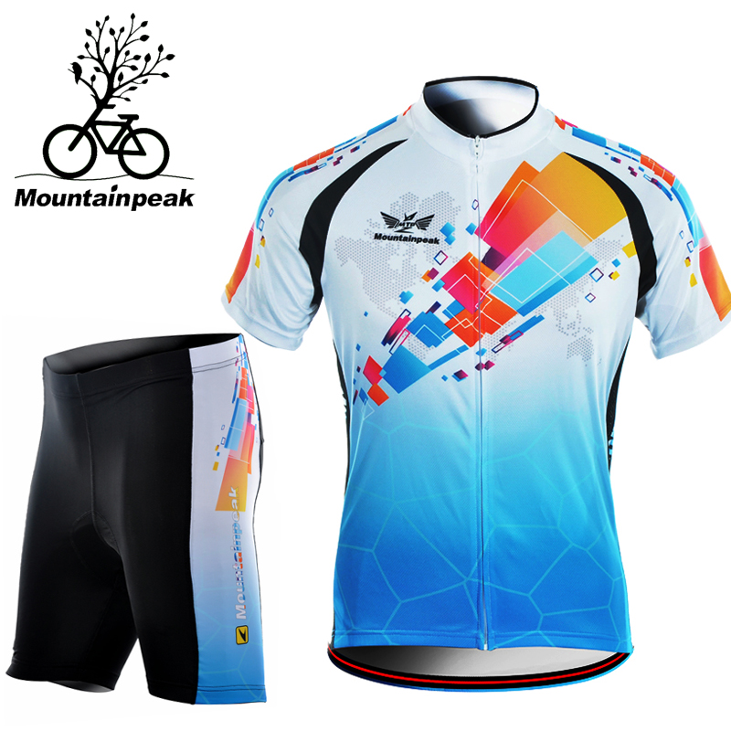 Mountainpeak Short Sleeved Riding Suit Pants Shorts In Summer Bicycle Equipment