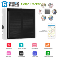 Impermeabile Solar GPS GPRS GSM Tracker Localizzatore SOS Communicator per Pet Bambini Bambini Anziani Personal Web APP Pista A due way Colloquio
