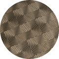 58mm design pattern press plate for compact or eyeshadow powder