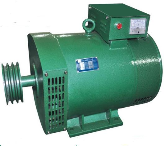 Fast Shipping Single Three Phase Alternator  ST-3 STC-3 3kW 3phase Generator Belt Pulley Suit For The More Chinese Diesel Engine