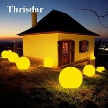 Thrisdar ip68 Светодиодный светильник для бассейна плавающий